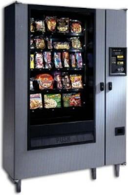 AP 320 A La Carte  Glass Front Frozen Vending Machine Merchandiser