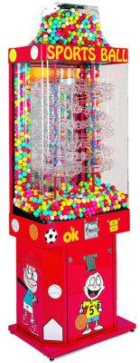 Sports Ball-Gumball Falls  Gumball Kinetic Vending Machine - Sportsball