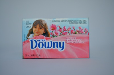 Ultra Downy Fabric Softener  1 Load - For Coin Vending Machine